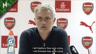 'Boring is 10 years without a title!' | Mourinho mocking Arsenal | Jose press conference compilation
