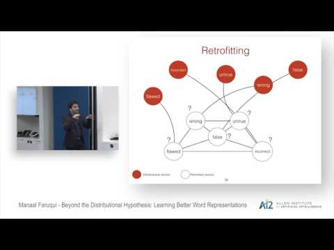 Beyond the Distributional Hypothesis: Learning Better Word Representations Thumbnail