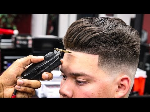 BARBER TUTORIAL: HOW TO DO A MID BALD FADE