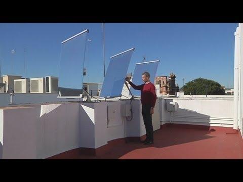 Un sistema de espejos lleva la luz natural a pisos interiores para reducir el consumo eléctrico