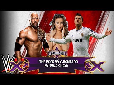 Ronaldo và The Rock 'đấm nhau đến chết' vì Irina