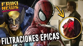 ¡BLACK WIDOW VIAJA EN EL TIEMPO! Filtran villano de Spider-Man 3, Eternals es un film de X-Men?!!!