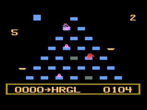 Q*Bert for the Philips Videopac