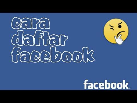 Video CARA  BUAT AKUN FB ATAU DAFTAR FACEBOOK  BARU DI ANDROID