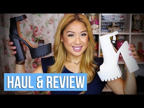 PUBLIC DESIRE SHOE HAUL & REVIEW