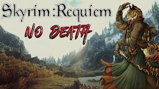 Skyrim - Requiem (без смертей, макс сложность) Каджит-убийца #5 Магический геноцид