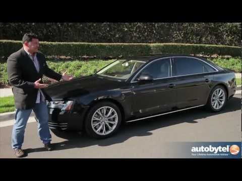 2012 Audi A8 L: Video Road Test and Review