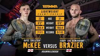 BAMMA 36: Rhys McKee vs Terry Brazier