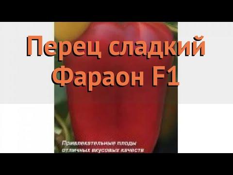 Перец сладкий Фараон F1 (faraon-f1 faraon-f1) 🌿 Фараон F1 обзор: как сажать, семена перца Фараон F1