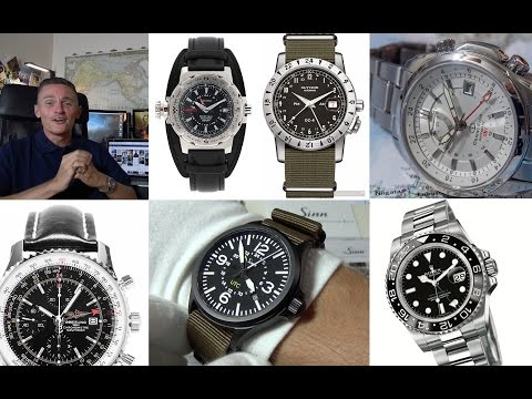 A Most Useful Of Complications – My Top 5 Best GMT Watches + Sinn 856 UTC Review