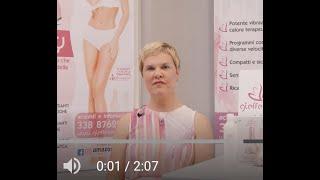 Presentazione BODY massaggiatore corpo e seno con funzioni EMS
