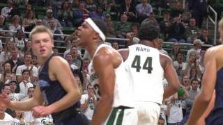 Great highlights here not only of Miles Bridges but all the returning Spartans