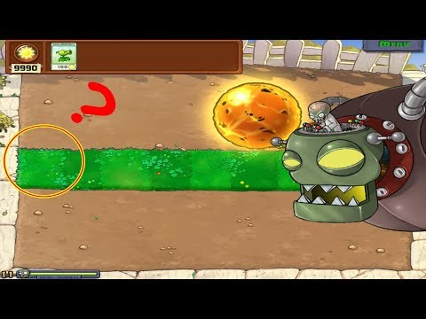 9999 PeaShooter vs Gargantuar vs Giga-Gargantuar Hack Plants vs Zombies