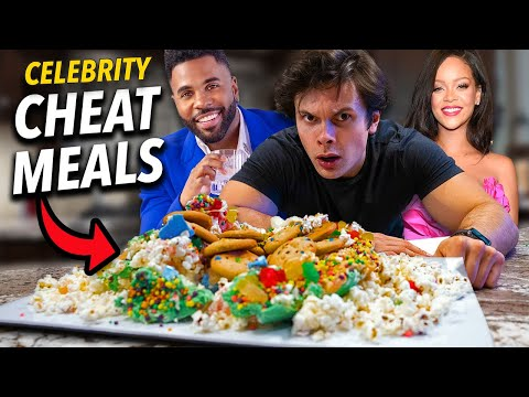 Trying CRAZY Celebrity Cheat Meals | Rihanna, Britney Spears...