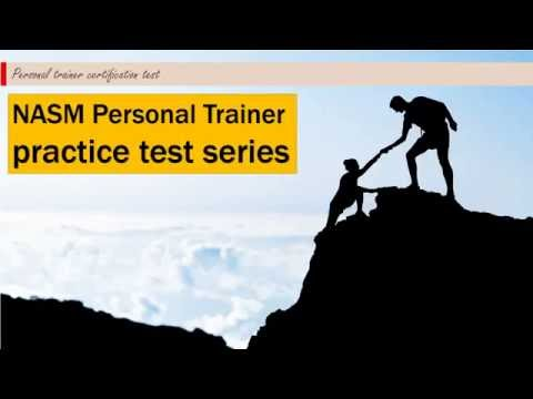 NASM Personal Trainer practice test #1 - YouTube