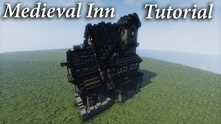 Minecraft: Medieval Tavern/Inn tutorial