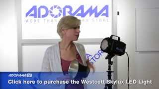Westcott Skylux 1000W LED Light: Product Overview: Adorama Photography TV