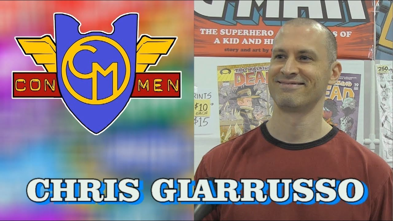 Chris Giarrusso talks about G-MAN