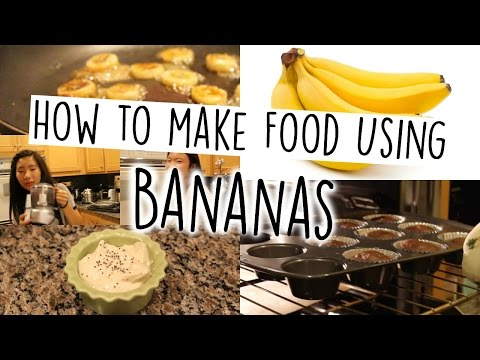 Video Healthy Banana Snacks: Super Simple and Easy! | Grace and Caroline