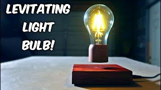 Levitating Light Bulb!