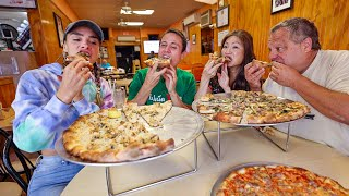 Insane Pizza Cooking!! ULTIMATE PIZZA PARADISE!! 🍕 Zuppardi's + Frank Pepe in New Haven!