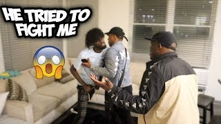 I TOLD CHARC IM IN A RELATIONSHIP WITH HIS GIRLFRIEND !!!  ( CRAZY REACTION )