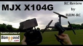 MJX X104G review - GPS 5G Wifi FPV Quadcopter drone фото