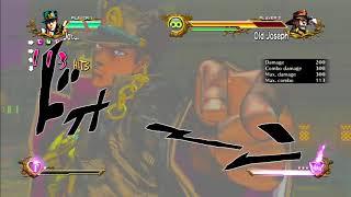 JoJo's All Star Battle: Jotaro Move Set - HD