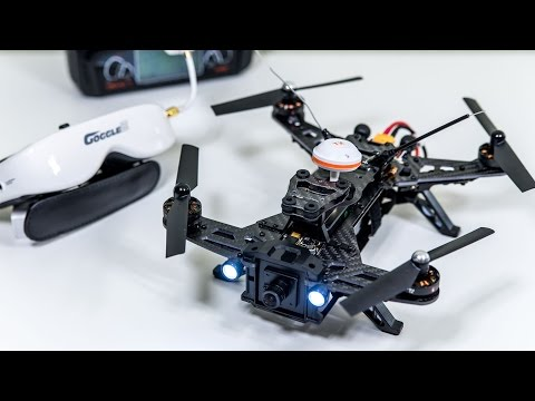 Walkera Runner 250: Racing Drone w/ FPV Goggles! REVIEW