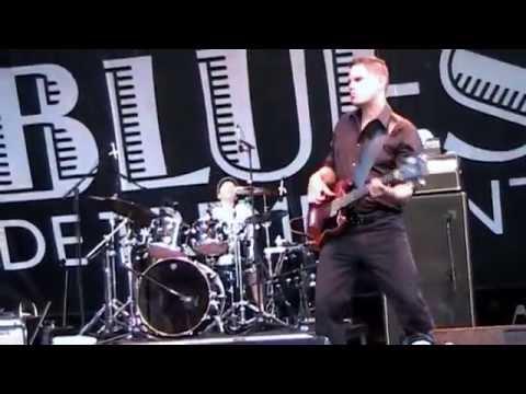 David Gogo w/John 'the Stickman' - Tremblant Int'l Blues Festival 2014