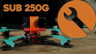 Build: sub250g 5inch Freestyle Drone - Rotor Riot OUTLAW
