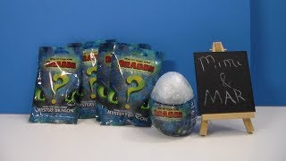 How to Train Your Dragon 3 The Hidden World Egg & blind bags series 2?