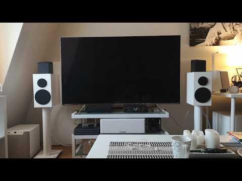 Buchardt S300 vs Sony SS-CS5 Sound Demo - смотреть онлайн на
