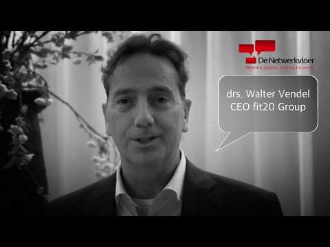 drs. Walter Vendel - CEO fit20 Group