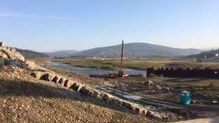 preview picture of video 'Dno przyszłego Jeziora Mucharskiego'