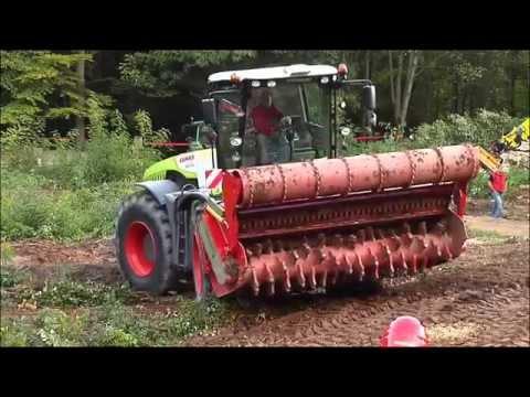 SEPPI M. - MAXISOIL - forestry tiller / fresa forestale / Forstfräse