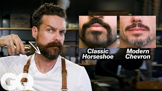7 Ways To Shave & Style A Mustache | GQ