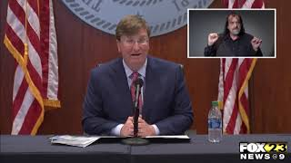 Gov. Reeves discusses development of COVID-19 vaccine