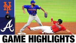 Travis d'Arnaud plates five in win vs. Mets | Mets-Braves Game Highlights 7/31/20