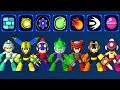 Mega Man 11 All Power ups