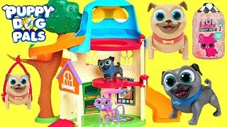 Puppy Dog Pals Move into a New House and Find LOL Surprise Treasure