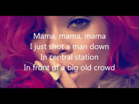 Rihanna- Man Down Lyrics Mp3