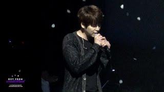 150823 K.R.Y ASIA tour in seoul 규현 - 야생화 (KYUHYUN)