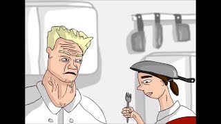 Gordon Ramsay BEST INSULTS - April 2019 (Cartoon Version)