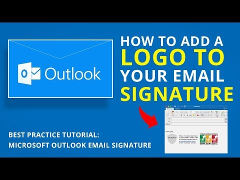 HOW TO ADD A LOGO TO YOUR EMAIL SIGNATURE   Microsoft ...