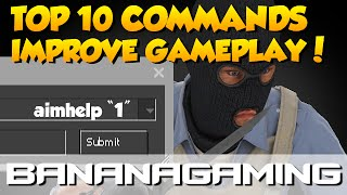 CS:GO - 10 COMMANDS FOR BETTER GAMEPLAY!