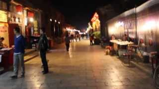 preview picture of video 'Streets of Pingyao (平遥) at night'