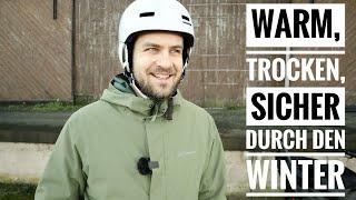 Winteroutfit für Alltagsradler  - auf und abseits vom Fahrrad warm, trocken und stilvoll bleiben!