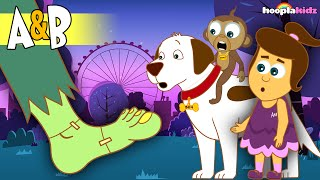 The Adventures of Annie and Ben – LONDON by HooplaKidz in 4K - EP 18