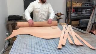 Making A Veg Tan Leather Belt